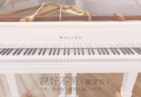 【钢琴】说好不哭(文武贝钢琴版)