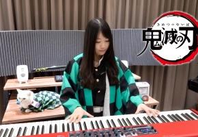 鬼灭之刃OP「红莲华 / LiSA」钢琴演奏 Ru,s Piano   New Ver.