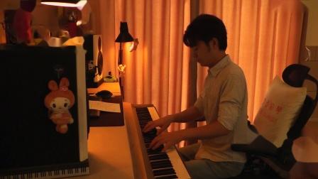 《灰姑娘》夜色钢琴曲 赵海洋 演奏...