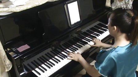 风云雄霸天下《虫儿飞》钢琴视