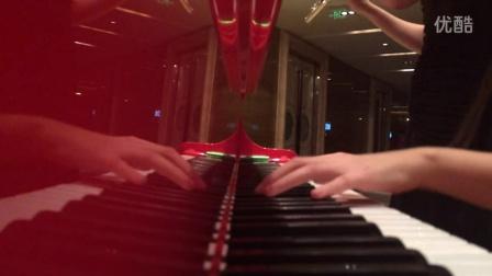 钢琴长笛合奏  《手掌心》