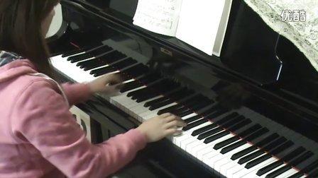 齐秦《月亮代表我的心》钢琴版