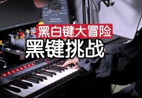 原来,钢琴只弹黑键也好听?!【Roland 罗兰-黑白键大冒险】