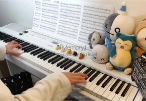 偶然发现的一天 OST / BGM 背景音乐「Memory / A Door To Time」钢琴改编