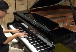 手速快到飞起的小林家的龙女仆OP肖邦钢琴版!