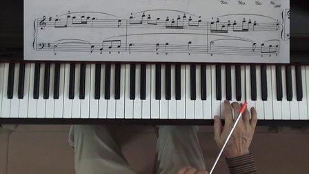 钢琴曲牧民歌唱毛主席