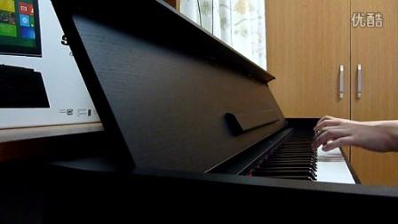 孙燕姿《天黑黑》钢琴曲演奏