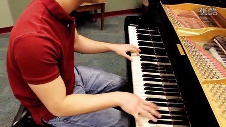 超赞!男生钢琴弹奏版冰雪奇缘