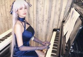【钢琴】《碧蓝航线》经典bgm联弹 贝尔法斯特的演奏时间