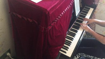 《三生三世十里桃花》片尾曲《凉凉》钢琴曲