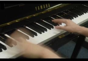 【骨头】路人女主插曲(雾) 天元突破OP(空色时光)钢琴