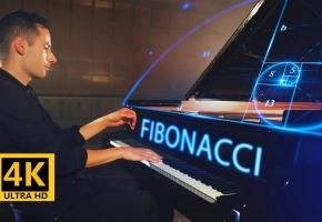 【4K】斐波那契数列的钢琴曲 - Peter Bence