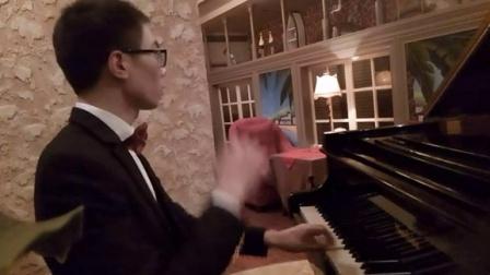 你的心河(三角钢琴)