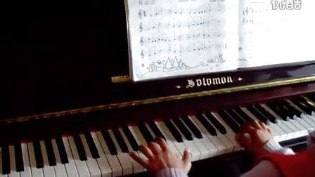 雪绒花 钢琴练习曲