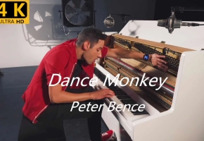 【4K】全网最秀最好听的 DANCE MONKEY - Peter Bence (Piano Cover)