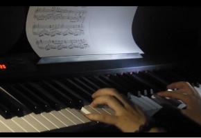 【骨头】高考祝福-wish(最终幻想13-2主题曲)钢琴版