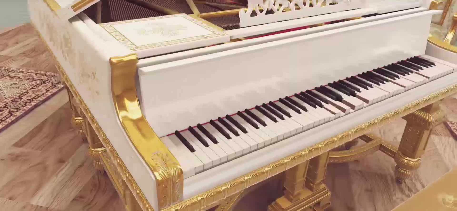 告白の夜-纯钢琴版