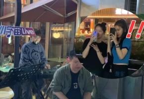 深圳街头唱起《你的名字》火花,旁边小姐姐不淡定了!