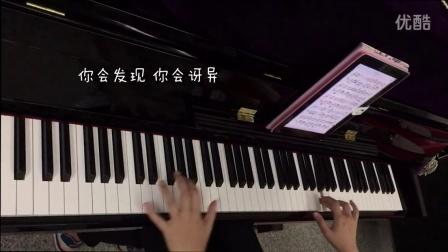 洋葱 钢琴版 猫宁宁宁