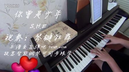 SHE 你曾是少年 钢琴曲