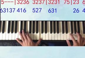 《大鱼》姜创钢琴教学