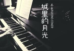 【钢琴】城里的月光把梦照亮 请守护它身旁