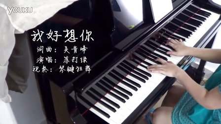 小时代主题曲《我好想你》钢琴