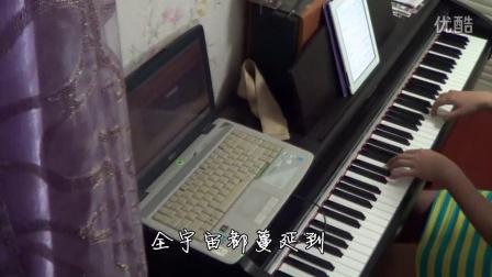 TFBOYS《魔法城堡》钢琴