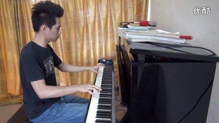 钢琴独奏保卫黄河
