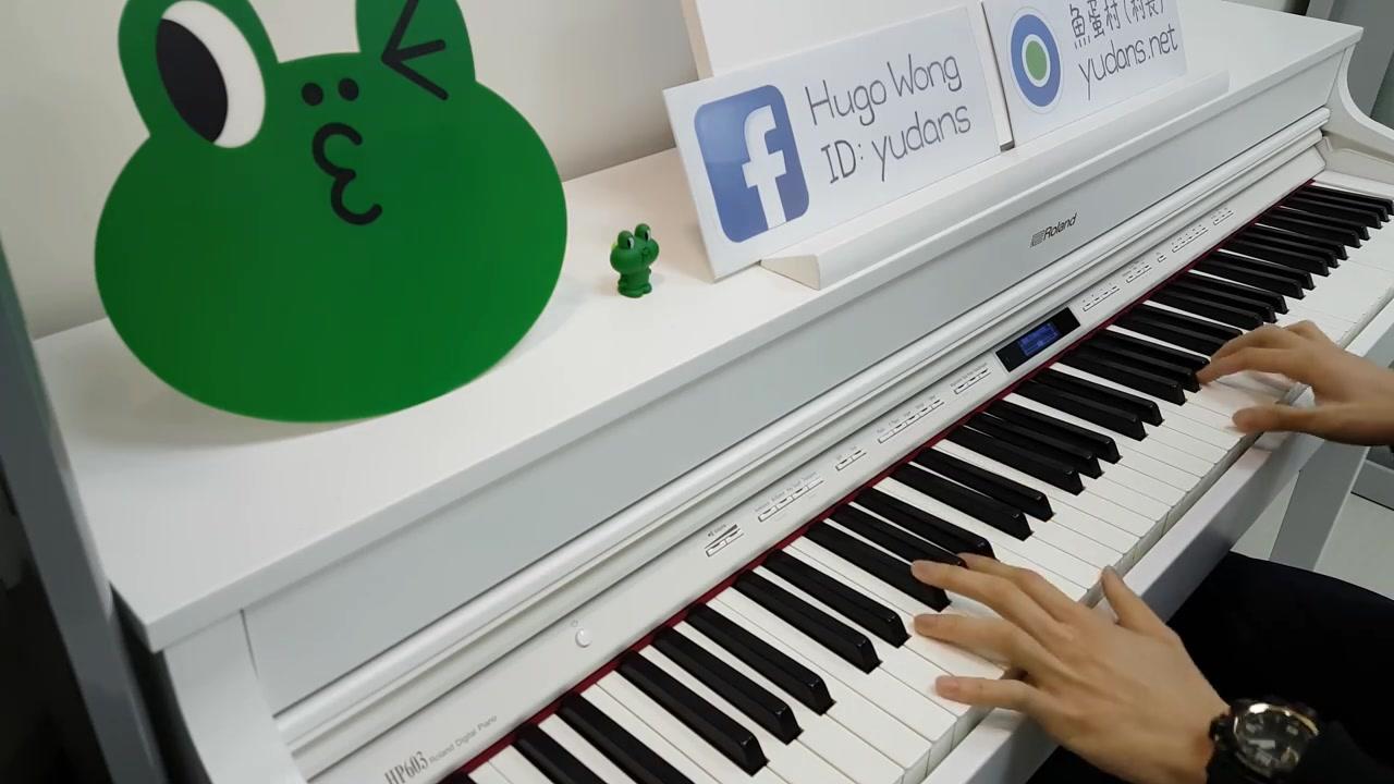 《林俊杰-崇拜》超好听的钢琴版!