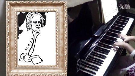 巴赫《C大调前奏曲》钢琴视奏