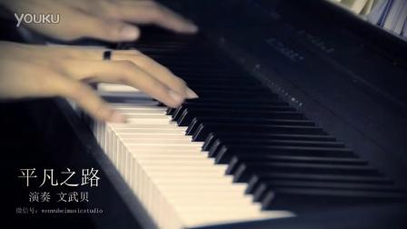 平凡之路 文武贝钢琴版