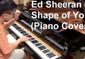 最来势汹汹(Shape Of You)  钢琴演奏!