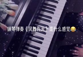 最近挺火热的钢琴弹奏《凤舞九天》是什么感