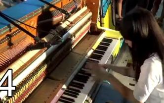 5个难度最高的街头钢琴表演,真是开眼界了,高手在民间啊!