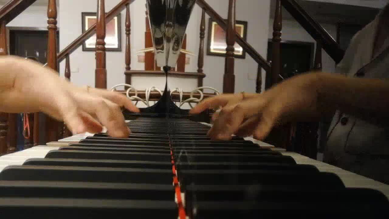 陈情令 无羁 甩饼小公主 发布了一个钢琴