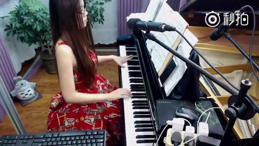 【克罗地亚狂想曲】【熊猫TV 巧奇】加快版钢琴演奏