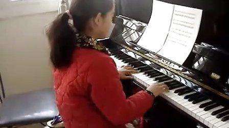 钢琴演奏 雪绒花