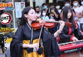 热门动漫音乐快闪演奏   Ru,s Piano & 黄品舒 Kathie   开拓动漫祭36