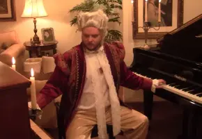 莫扎特双琴演奏《土耳其进行曲》