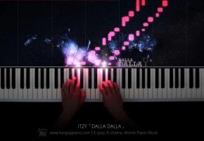 ITZY「DALLA DALLA」钢琴
