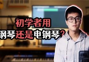 初学者用电钢琴还是钢琴?你可能一直被忽悠了!