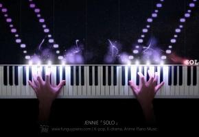 JENNIE「SOLO」钢琴