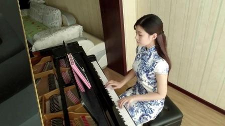青花瓷青花瓷 旗袍中国风钢琴