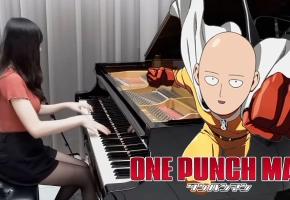 【Ru,s Piano】一拳超人OP1「THE HERO!! ~怒れる拳に火をつけろ~」我是兴趣使然的动漫钢琴家!