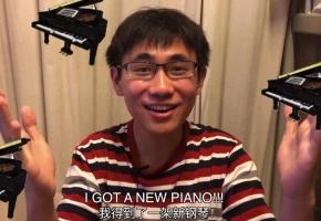 我的钢琴终于到了!!!原来钢琴是这样搬运的!