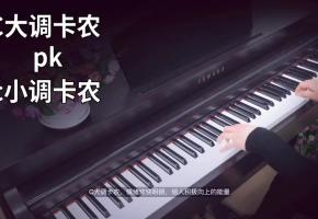 【钢琴】《C大调卡农》pk《c小调卡农》会发生什么