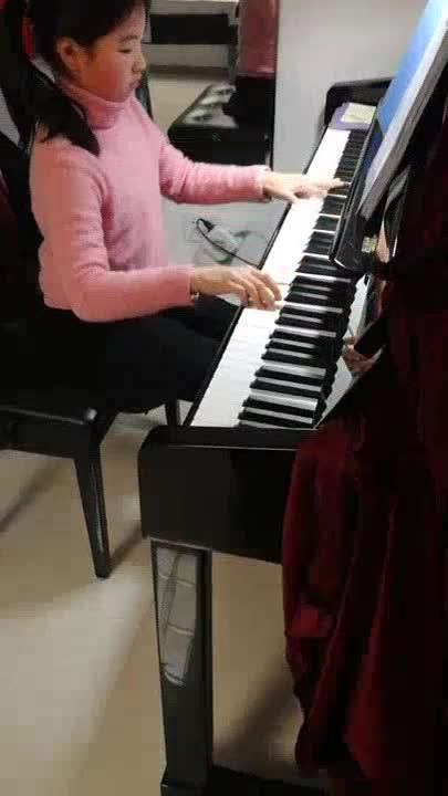 紫色の音 发布了一个钢琴弹奏视频,欢迎来
