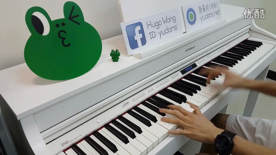 后来的我们 钢琴_哔哩哔哩 (゜-...
