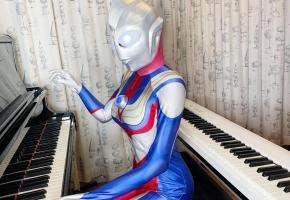 【钢琴】《迪迦奥特曼》中文版OP《奇迹再现》